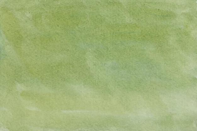 Зеленая акварель абстрактный фон текстуры