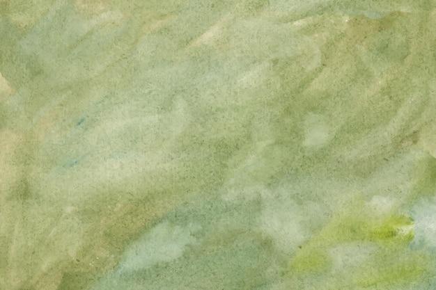 緑の水彩抽象的な背景テクスチャ