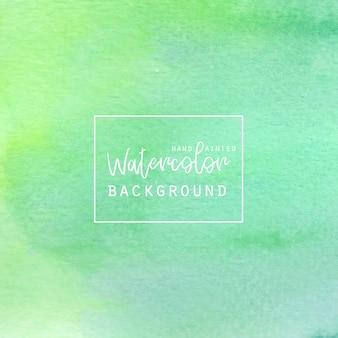 Зеленый акварель абстрактный фон
