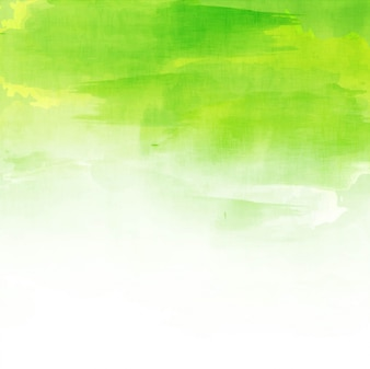 Green watercolor background design