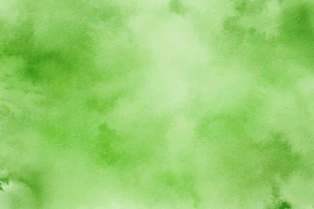 Зеленая акварель фоновой текстуры цифровой
