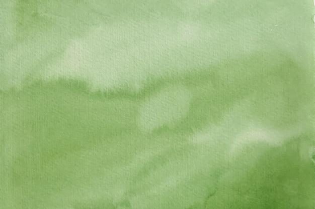 Зеленая акварель фоновой текстуры
