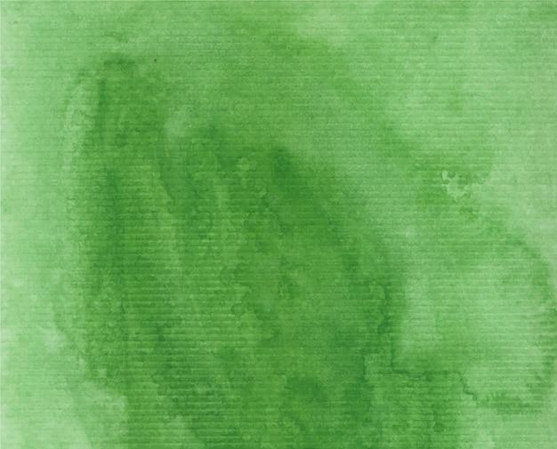 緑の水彩背景