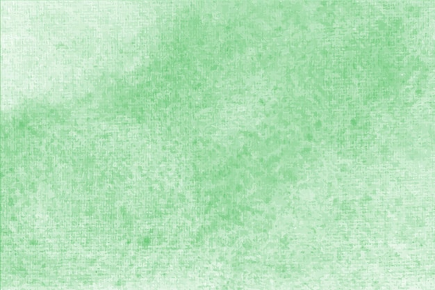 Green watercolor pastel background hand painted aquarelle colorful stains on paper