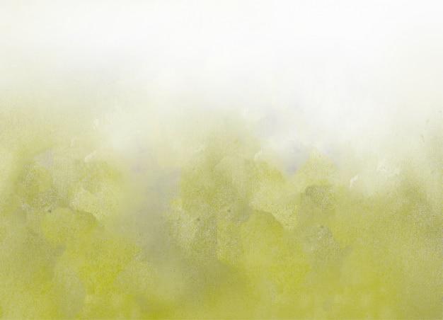 緑の水彩テクスチャ抽象的な背景