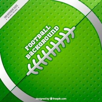 Green and white american football background