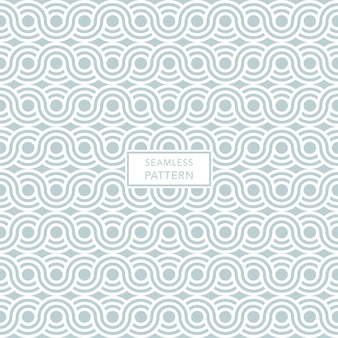 Green and white geometric pattern.