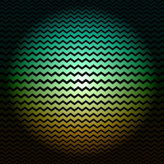 Green and yellow zigzag background
