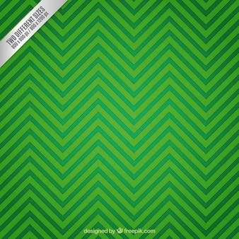 Green zigzag background