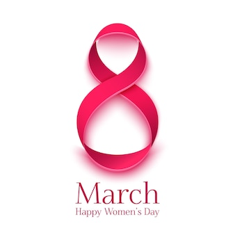 Greeting card. background template for international womens day.