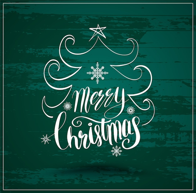 クリスマスのためのグリーティングカードと新年の挨拶
