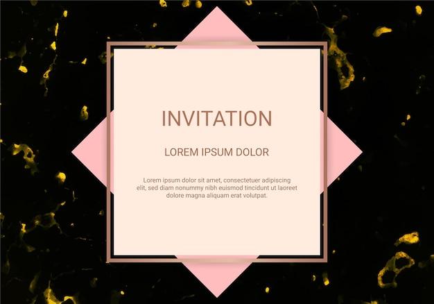 인사말 카드 초대장 디자인 서식 파일