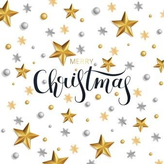 グリーティングカード、新年あけましておめでとうございますとクリスマスの招待状。