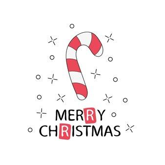 Открытка. с рождеством христовым надписи. шаблон для новогодних открыток и плакатов с рождеством или каракули