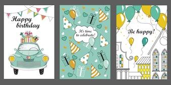 Шаблоны поздравительных открыток.
