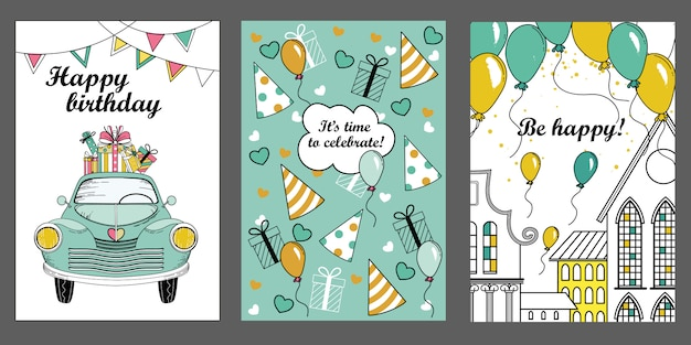 Greeting card templates .