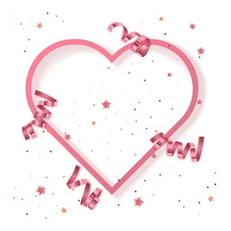 Greeting card valentins day greeting background vector eps 10 format illustration