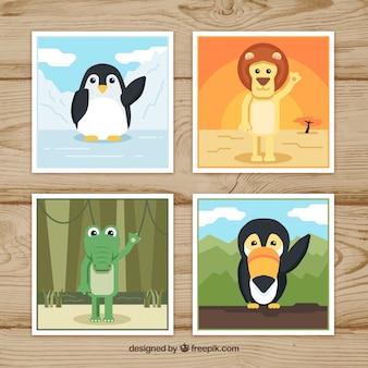 Cartoline d'auguri di animali