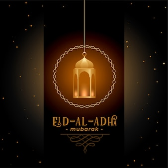 Greeting design for eid al adha festival