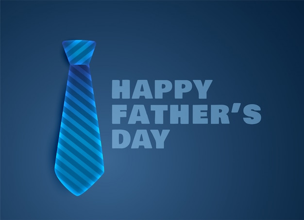 Greeting for happy fathers day