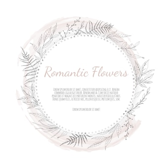 Greeting, postcard wedding invite template.
