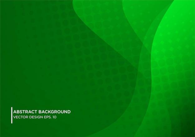 Абстрактный дизайн gren фон с современной формы concpet