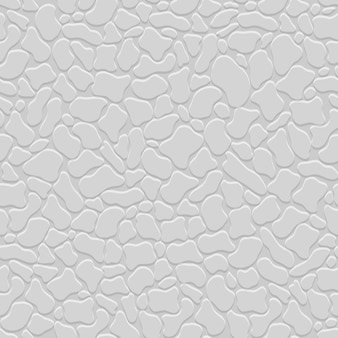 Grey 3d seamless pattern with stylized stones