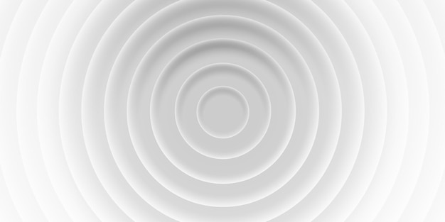그림자, 재료 3d 스타일이 있는 원의 회색 추상 배경. 인쇄 템플릿, 브로셔, 웹, 표지에 대한 기하학적 벡터 텍스처