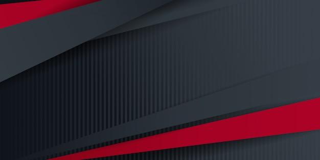 현대 선 및 붉은 색 회색 추상 배경.