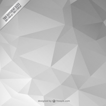 Grey abstract polygonal background