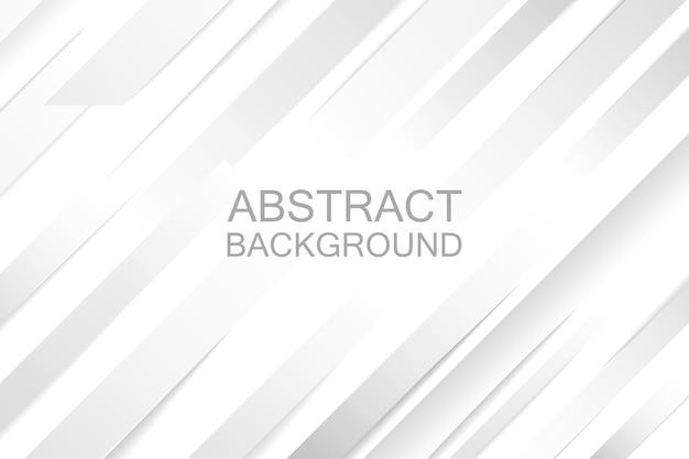 プレゼンテーションデザインの灰色と白の抽象的な紙の背景