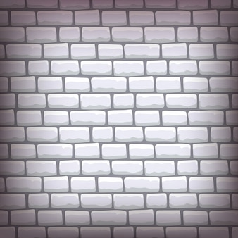 Grey brick background vector illustration