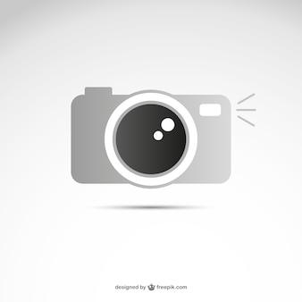 Grey camera logo