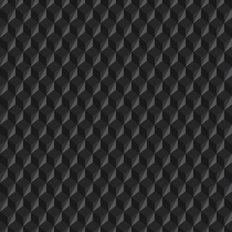 Grey cubic background