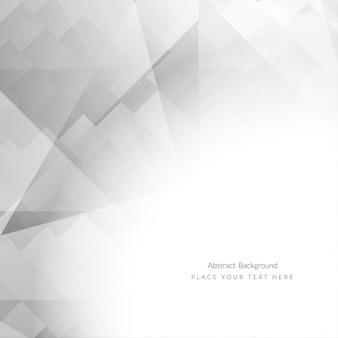 Grey elegant polygonal background