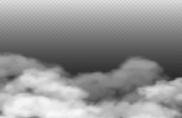 Grey fog