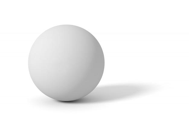Серый матовый шар
