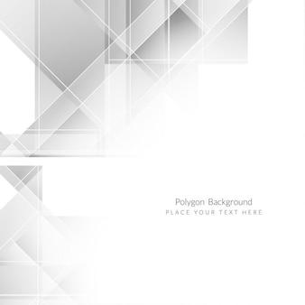 グレー色の近代的なポリゴンの背景デザイン