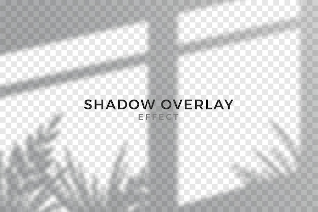 Grey overlay effect of transparent shadows