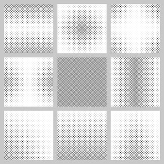 Grey pattern background collection
