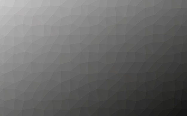 Grey polygon low poly geometry background