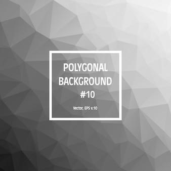 Grey Polygonal Background