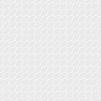 Grey seamless pattern of interlacement