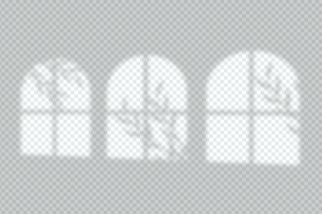 灰色の影のオーバーレイ効果スタイル