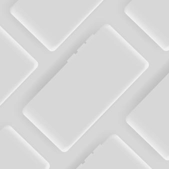 Grey smartphone  background