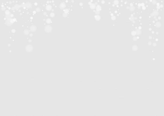 灰色の雪の季節のテクスチャ
