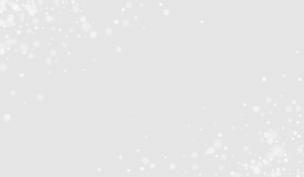 灰色の雪の透明な図