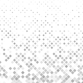 Grey square pattern background - vector illustration
