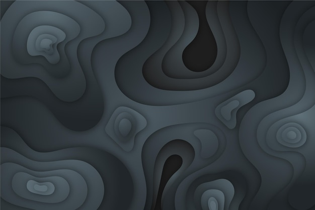 Grey topographic map background