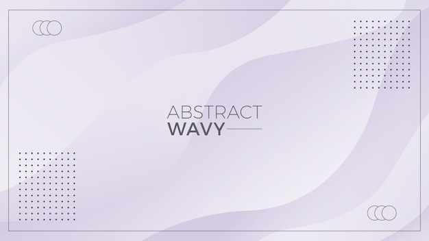 Grey wavy abstract background